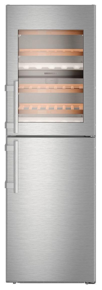 "173L/154L Fridge/freezer Capacity NoFrost IceMaker SmartSteel Softsystem SmartDevice 2.4"" colour..."