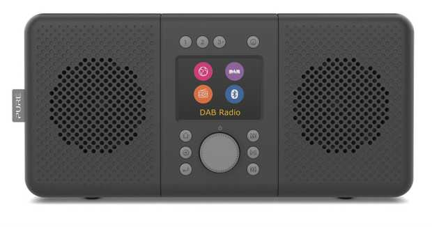 "DAB+ digital radio Bluetooth connectivity 2x3W stereo speaker 2.4"" full colour TFT display Practical..."