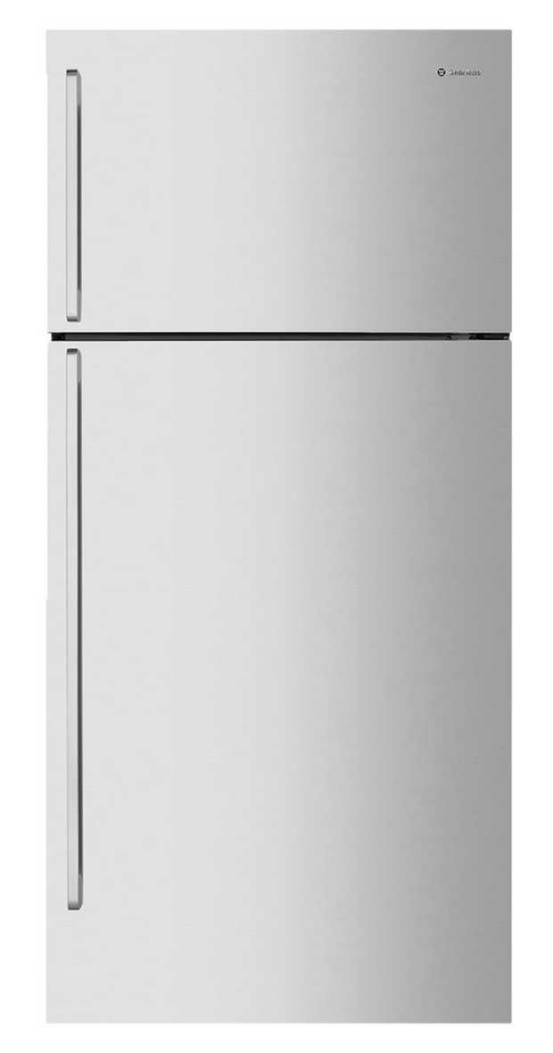 395L/141L Fridge/freezer capacity Flat Door Design Pole Handles Full-width humidity controlled crisper...