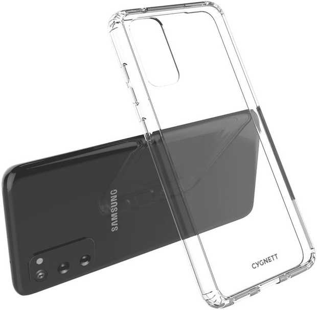 Shock Absorbent with soft Thermo Poluretane frame and crystal clear finish. The case is scratch...