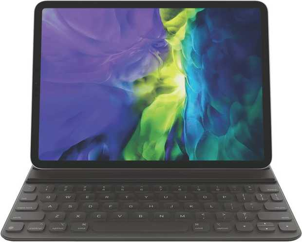 * Compatible with 11-inch iPad Pro 2020* Full-sized keyboard that's fully portable* Folds to create a...