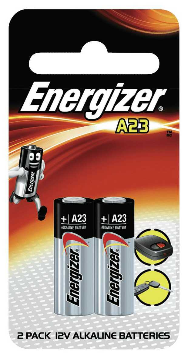 The Energizer A23 Battery is a high voltage series cell battery rated at 12V typically found in...