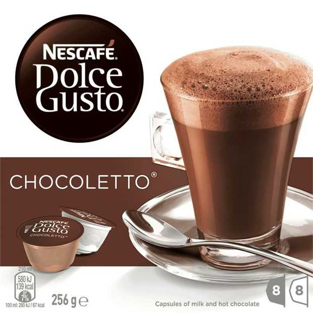 * A smooth, indulgent hot chocolate with the sophisticated taste of selected cocoa beans