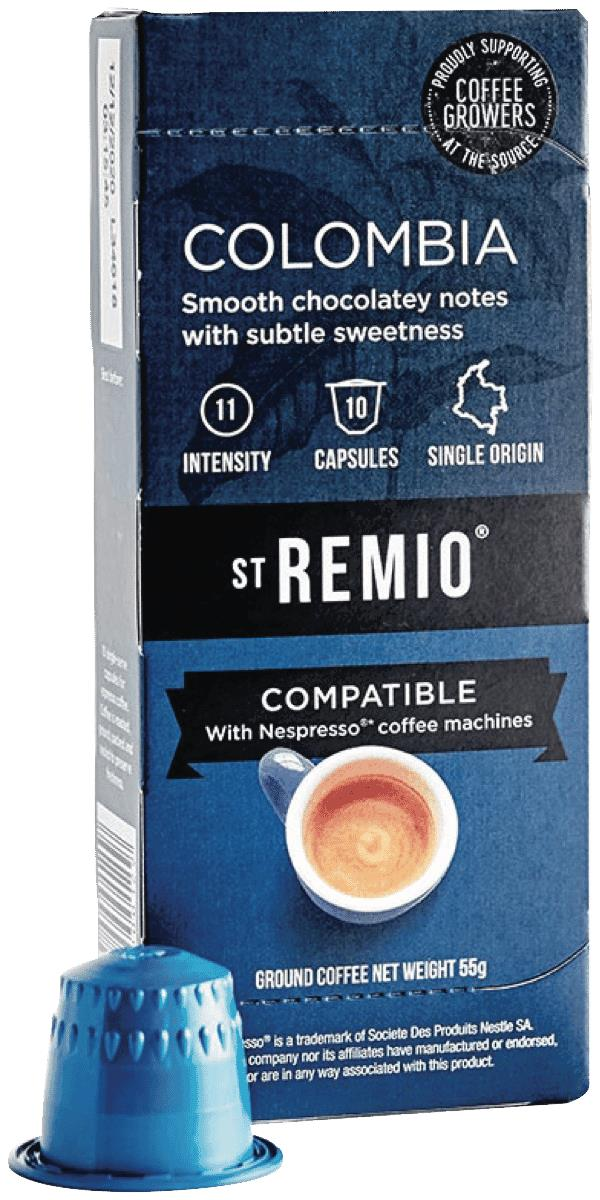 * Compatible with Nespresso machines** Colombian Single origin blends* High Quality coffee, blended in...