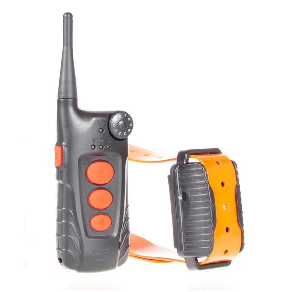With the Aetertek AT-918C Dog Training System, you can train your dog via auto-bark or remote control.