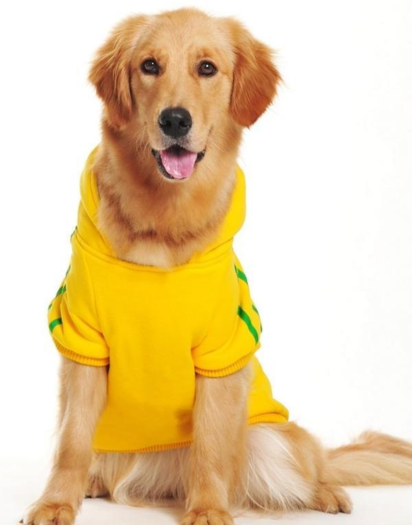 100% Brand New and High QualityMaterial: Cotton+DacronWinter Warm Hooded Coat For Pet Small Medium...