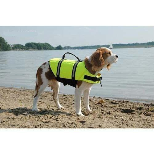 The new dog life jacket is for pets who love the outdoors and swimming!Life Jackets provide ultimate...