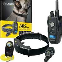 The ARC Handsfree is a 1.2km range e-collar, paired with a Dogtra Handsfree Remote Controller that...