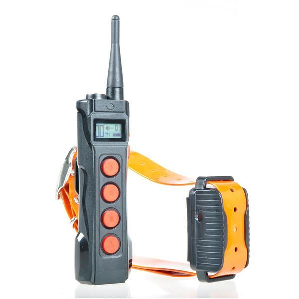 With the Aetertek AT-919C Dog Training System, you can train your dog via auto bark or remote control.