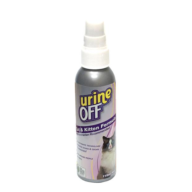 Urine Off Cat And Kitten Formula Travel Size 118ml Pet: Cat Category: Cat Supplies  Size: 0.1kg  Rich...
