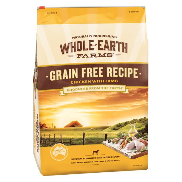 Whole Earth Farms Grain Free Recipe Dry Dog Food With Chicken And Lamb 12kg Pet: Dog Category: Dog...