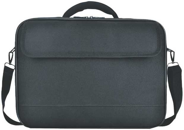 This ENCORE laptop case has a 15.6-inch capacity, so you can transport your computer and accessories.