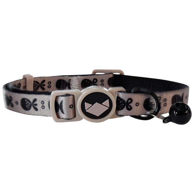 La Doggie Vita Cat Collar Go Fish Taupe Each Pet: Cat Category: Cat Supplies  Size: 0kg Colour: Brown...