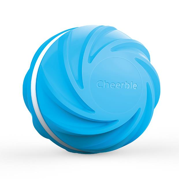 Cheerble Wicked Ball Cyclone Dog Toy Each Pet: Dog Category: Dog Supplies  Size: 0.4kg Colour: Blue...
