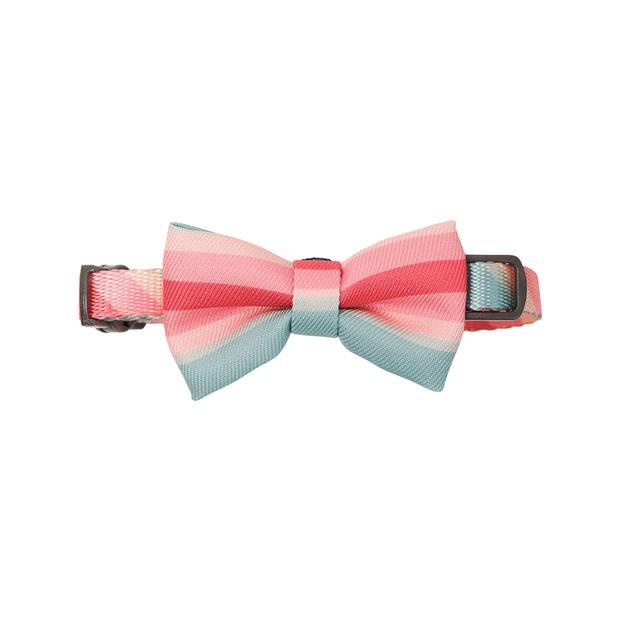 Pidan Cat Bow Tie Collar Vintage Stripes Each Pet: Cat Category: Cat Supplies  Size: 0kg Colour: Multi...