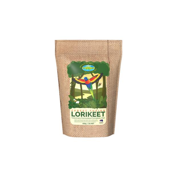 Vetafarm Forest Fusion Lorikeet 450g Pet: Bird Category: Bird Supplies  Size: 0.5kg  Rich Description:...