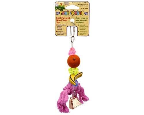 PARROT FRUIT KABOB SMALLBirds need plenty of colourful stimulating toys to keep them occupied...