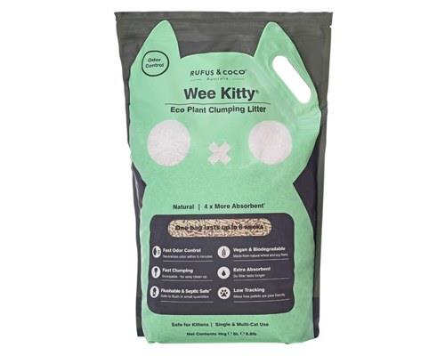 RUFUS & COCO ECO PLANT LITTER 4KGWee Kitty Eco Plant Clumping litter is here to take care of your...