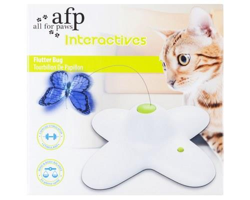 ALL FOR PAWS (AFP) CAT TOY INTERACTIVE FLUTTERBUG 25CMX25CMX8CMThe All For Paws (AFP) Cat Toy...
