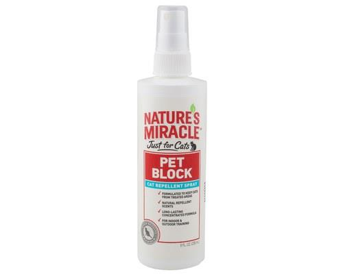 NATURE'S MIRACLE JUST FOR CATS PET BLOCK REPELLENT SPRAYCats like to take their anger and their...