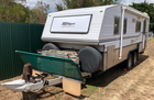 BUSHTRACKER CARAVAN 20 FT