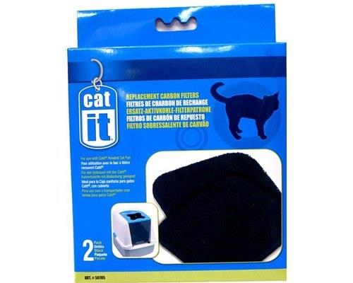 CATIT DELUXE CARTRIDGES FOR HOODED CAT PANS 2 PACKThe Cat It Deluxe Hooded Cat Pan is a larger sized...