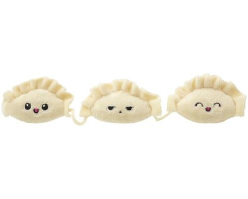 FUZZYARD CAT TOY DUMPLINGSThis trio of plush creatures attached by a string will keep all of those cool...