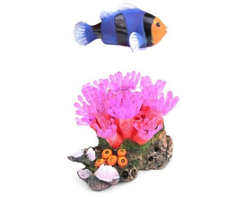 KAZOO SOFT CORAL W/FLOATING FISH & AIR - MEDIUMEven Dory would find it difficult to forget this...
