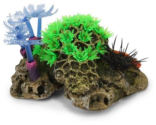 KAZOO SOFT CORAL W/SEA URCHIN - SMALLThis decorative coral tank ornament will turn your fish tank into...