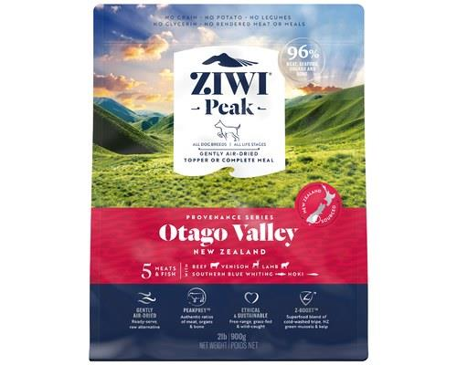 ZIWIPEAK PROVENANCE OTAGO VALLEY DOG FOOD 900GThe mountains reach high into the sky, and stretch far...