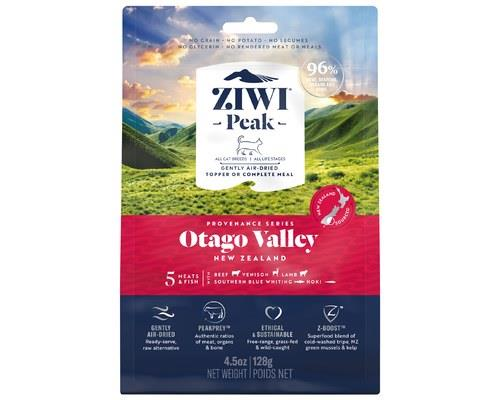 ZIWIPEAK AIR DRIED PROVENANCE OTAGO VALLEY CAT FOOD 128GThe Otago region: high reaching mountains and...