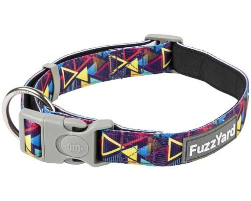 FUZZYARD DOG COLLAR PRISM LARGEGo to prism. Go directly to prism. Do not pass go. Do not collect...