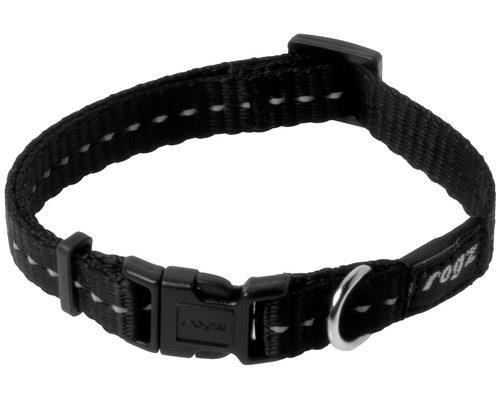 ROGZ NITE LIFE COLLAR BLACK REFLECTIVE SMALLMade from nylon webbing this dog collar is stylish and...