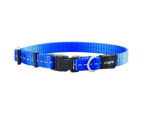 ROGZ NITE LIFE COLLAR BLUE REFLECTIVE SMALLMade from nylon webbing this dog collar is stylish and...