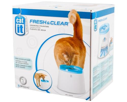"CATIT ""FRESH & CLEAR"" CAT/PUPPY DRINKING STATIONEncourage them from an early age to start drinking..."