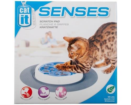 Catit Senses Scratch Pad, Interactive Cat ToySize:35.5cm L x 35.5cm W x 6.5cm HThe Catit Senses...