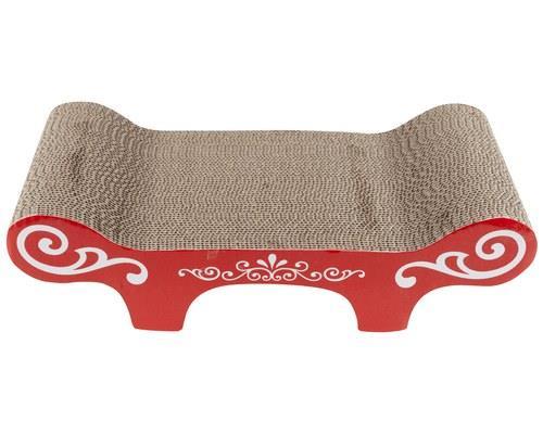 Catit Corrugated Cardboard Cat Scratcher Urban BenchSize:50.8cm L x 23cm W x 16cm HThis stylish...
