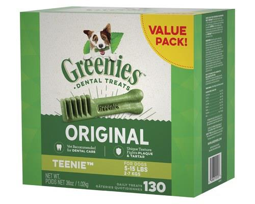 GREENIES ORIGINAL VALUE PACK TEENIE 1KGGREENIES dental treats for dogs are one of the easiest ways to...
