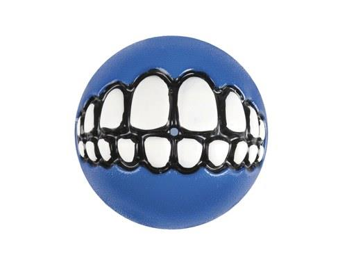 Rogz Grinz Smiling Teeth Ball Dog Toy, Small, BlueSize: 4.9cm recommended for small dogsRogz...