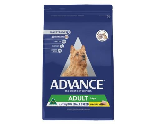 ADVANCE ADULT DOG TOY SMALL BREED CHICKEN 3KGADVANCE is scientifically formulated to help improve dog...