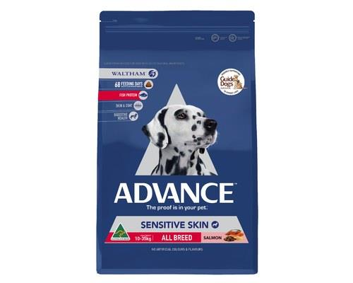 ADVANCE ADULT DOG ALL BREED SENSITIVE SKIN 13KGADVANCE is scientifically formulated to help improve dog...