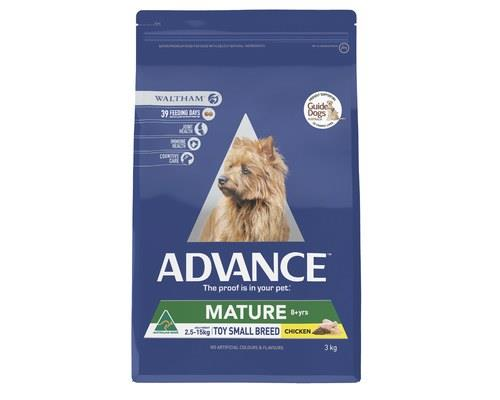 ADVANCE ADULT DOG TOY SMALL BREED MATURE CHICKEN 3KGADVANCE is scientifically formulated to help...