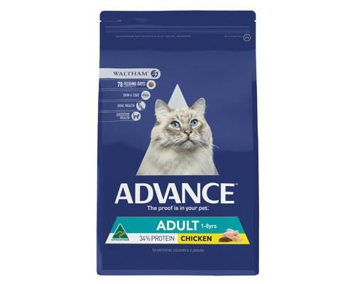 ADVANCE CAT ADULT CHICKEN 6KGADVANCE™ Adult Cat Dry Cat Food is a super premium food for...