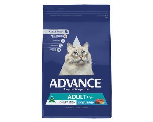 ADVANCE CAT ADULT OCEAN FISH 6KGADVANCE™Adult Cat Dry Cat Food is a super premium food for...