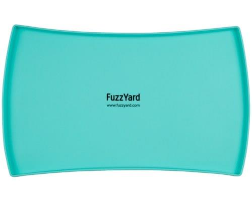 FuzzYard Silicon Pet Bowl Mat, Teal, One SizeSize: 47cm L x 30cm WMessy dogs and cats need a pet...