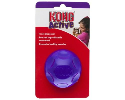 KONG CAT TREAT DISPENSING BALLPlace treats inside and watch your cat chase and swat the...