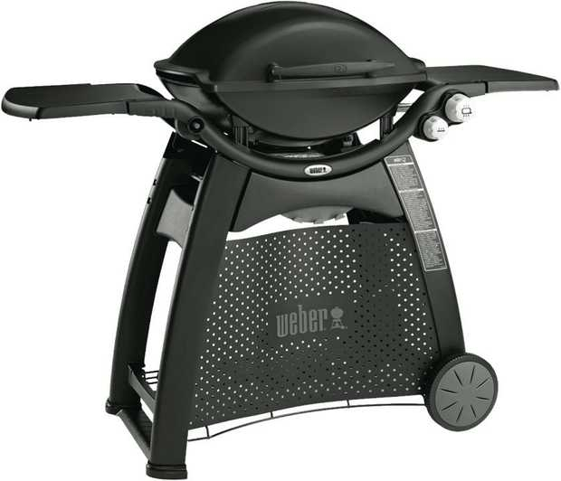 Cook up a storm quickly and easily with the power and convenience of the Weber Family Q Q3100 barbecue...