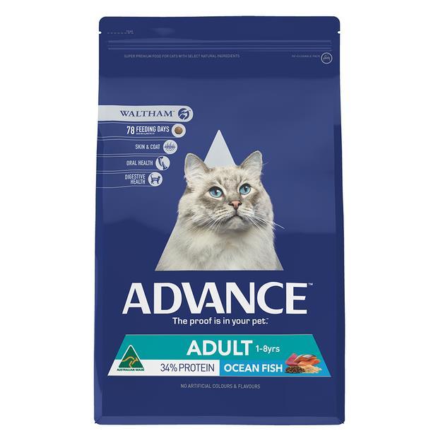 Advance Adult Dry Cat Food Ocean Fish 6kg Pet: Cat Category: Cat Supplies  Size: 6kg  Rich Description:...