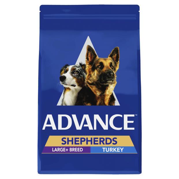 Advance Adult Shepherds Large Breed Dry Dog Food Turkey 7kg Pet: Dog Category: Dog Supplies  Size: 7kg...