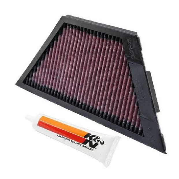 K&N; washable, reusable High-Flow Air Filters feature a state-of-the-art design of layered, oiled cotton...